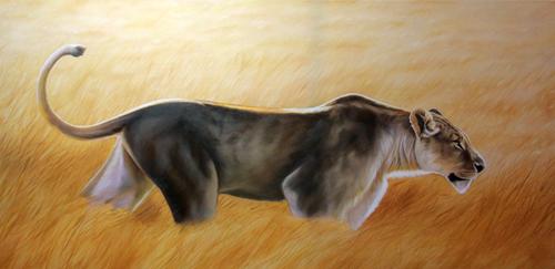 lionne-chassant500