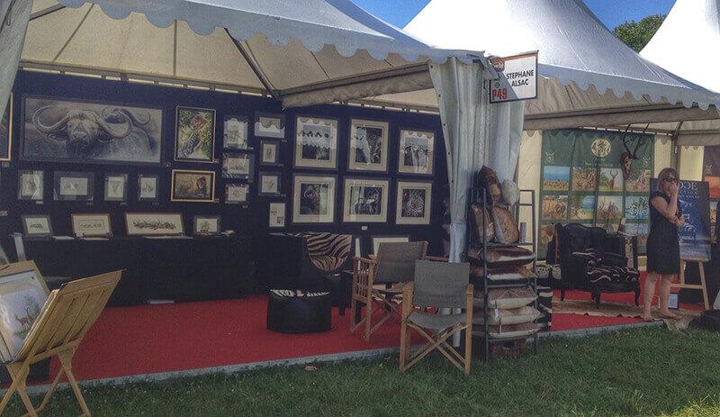 Game-fair-2014-Chambord-artiste