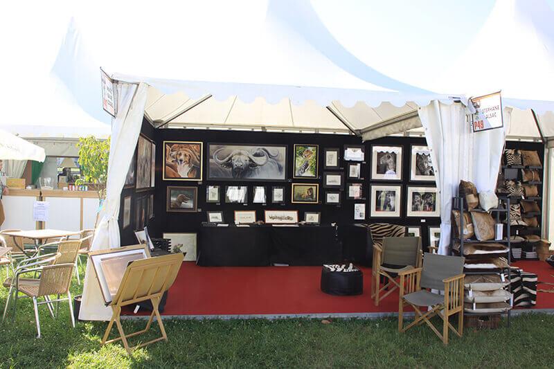 Game-fair-2014-Chambord-stand-artiste