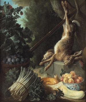 Nature morte au lièvre