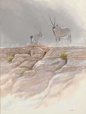 painting-Oryx-in-Damalarand