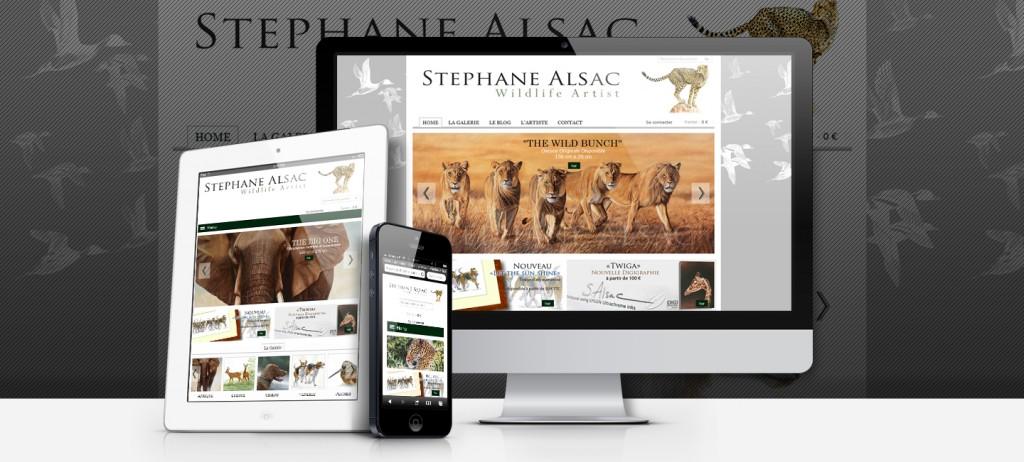 site web stephane Alsac