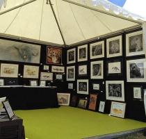 wildlife-artist-booth-hunting-fair-safari