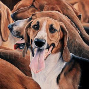 pet portrait painting