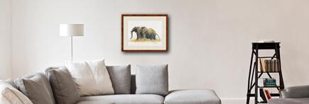 Déco Salon elephants