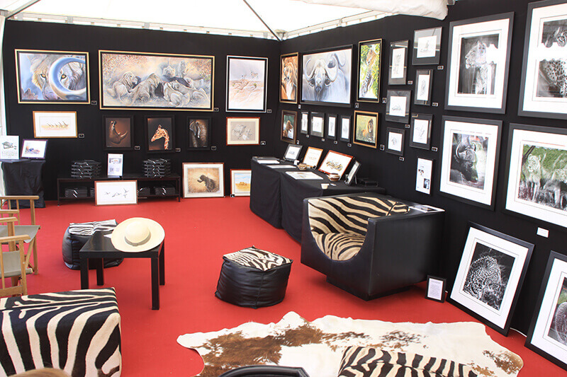 Game-fair-2014-Chambord-artiste (2)