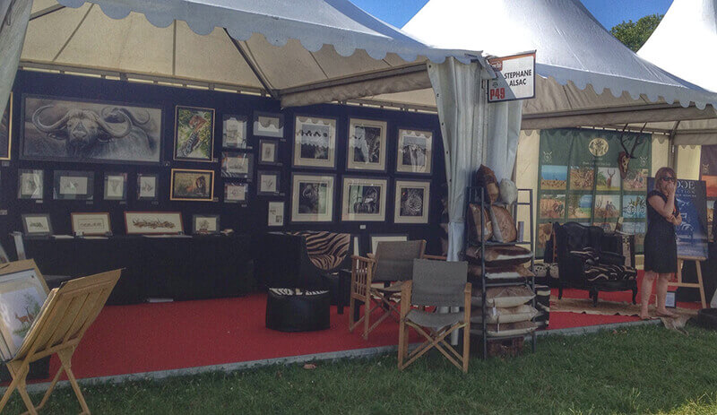 Game-fair-2014-Chambord-artiste