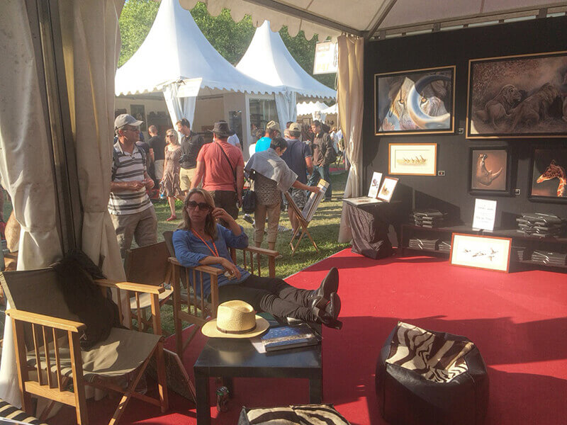 Game-fair-2014-Chambord-stand-alsac