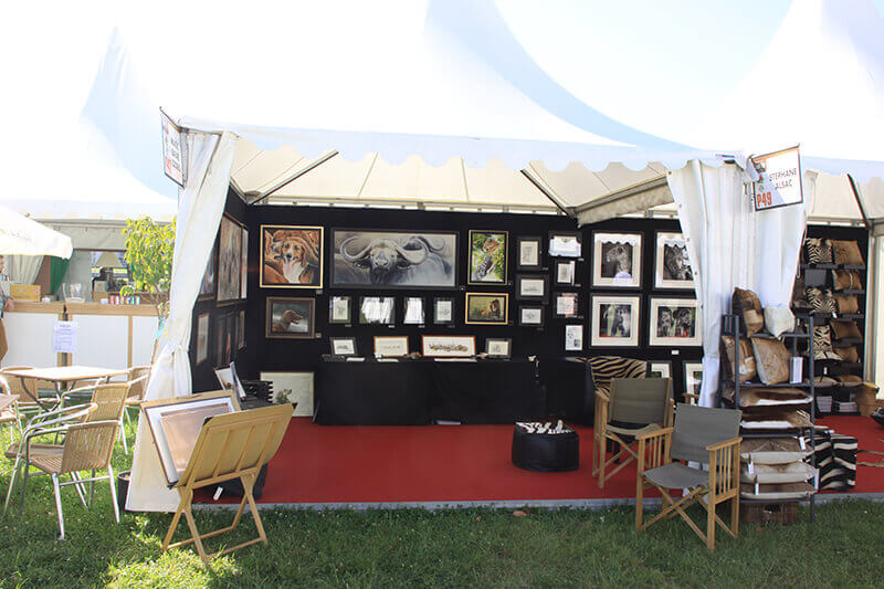 Game-fair-2014-Chambord-stand-artiste