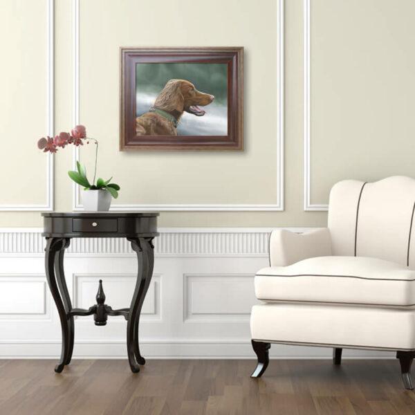 idée cadeau chasseur - peinture decoration