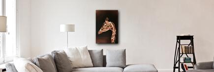 Déco Salon Girafe