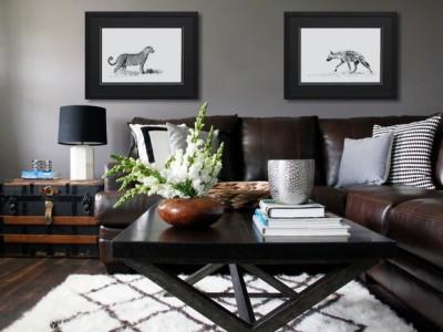 deco-photo-noir-et-blanc-afrique-moderne