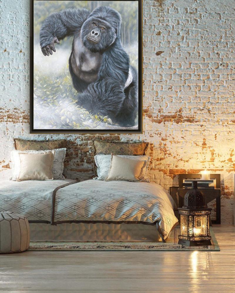 deco-tableau-gorille-chambre