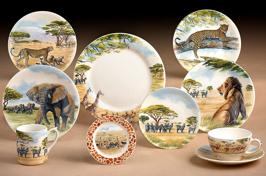 gien-safari-fine-dinnerware ·   & Safari