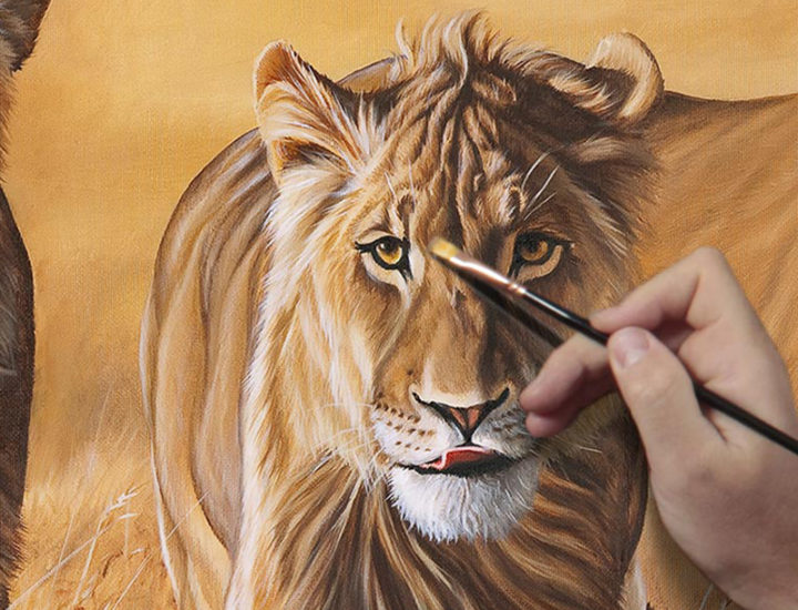 lions-painting-video-demo