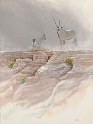 painting-Oryx-in-Damalarand