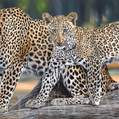 painting-leopards-tree-hyper-realistic-big-painting-africa