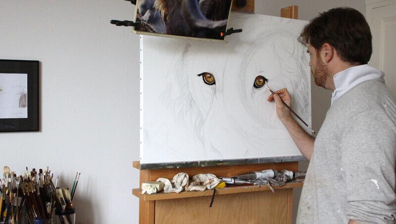 peinture-yeux-lion-face