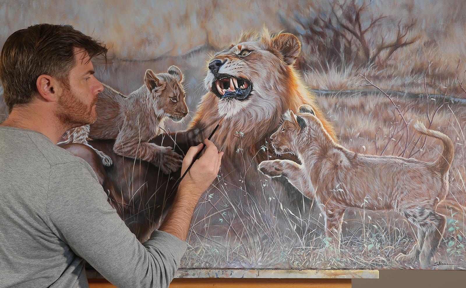 Stephane Alsac Artiste Peintre Animalier Hyper Realiste Stephane Alsac